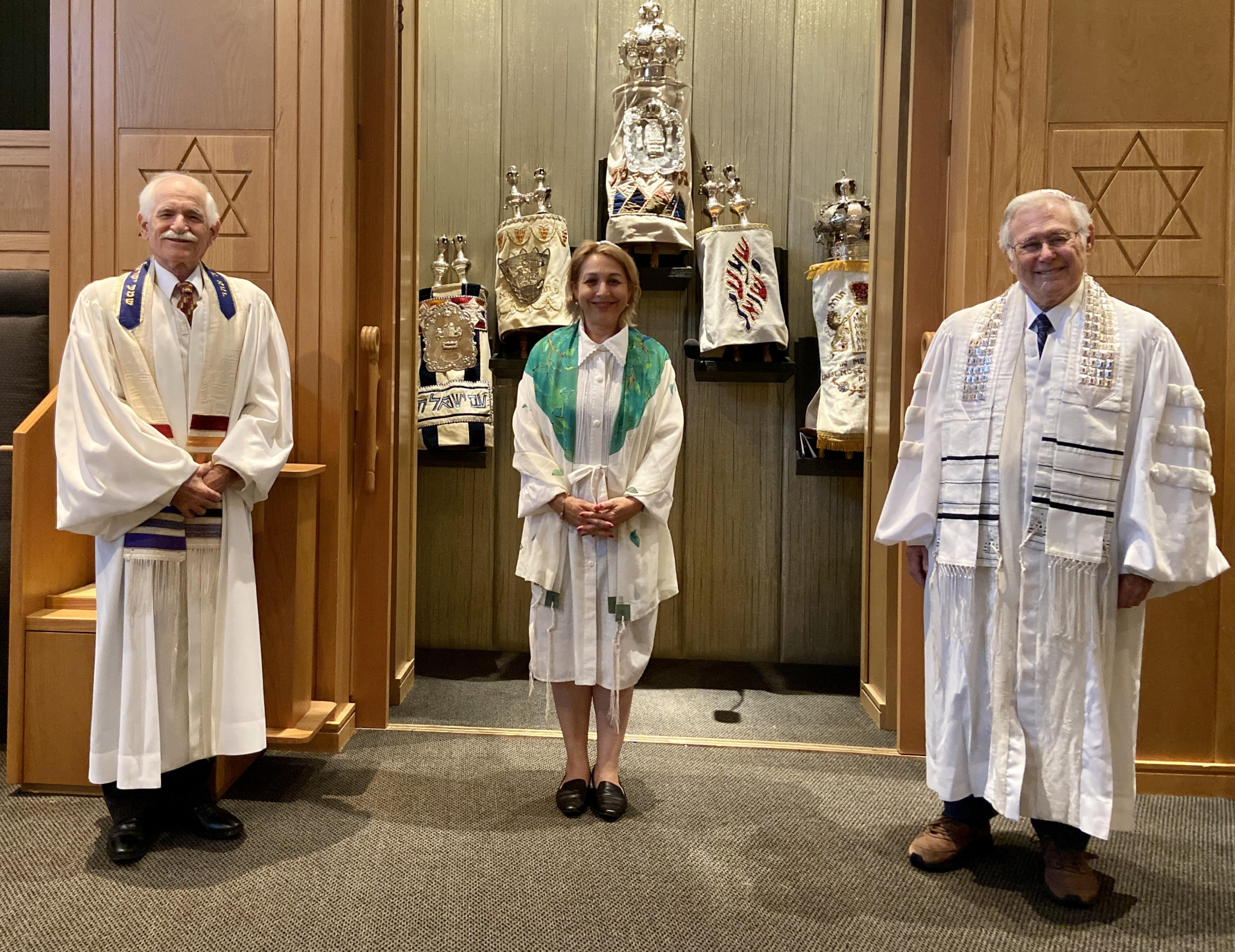 Temple Solel Clergy